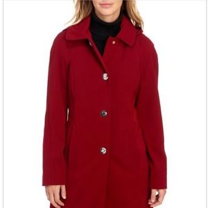 London Fog Red Coat
